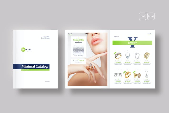 Thumbnail for Product Catalogue Template