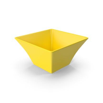 Ceramic Bowl Yellow