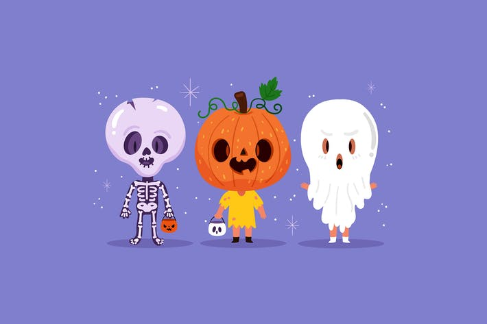 Thumbnail for Halloween Characters