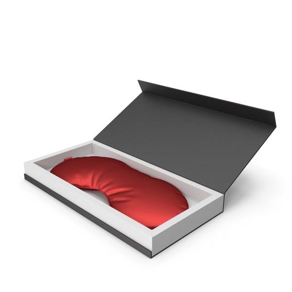 Red Silk Sleep Mask with Gift Box