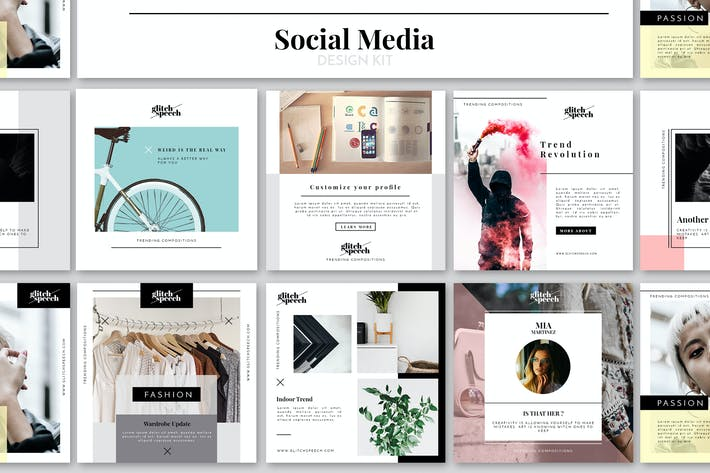 Thumbnail for Social Media Design Kit
