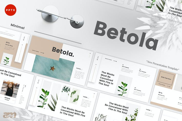 Thumbnail for Betola Minimal Powerpoint