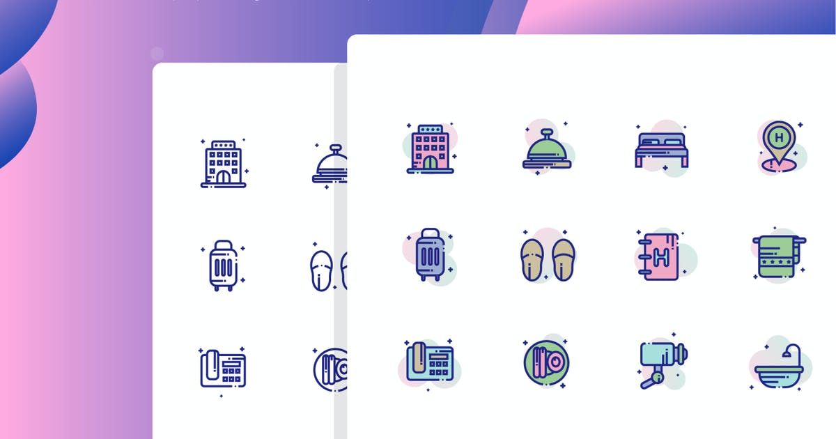 Download Hotel Icon Pack by inspirasign