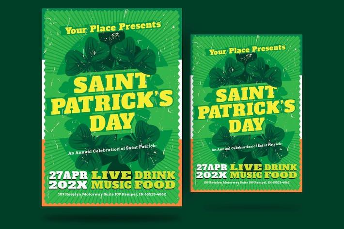 Thumbnail for St Patrick Day Shamrock Flyer