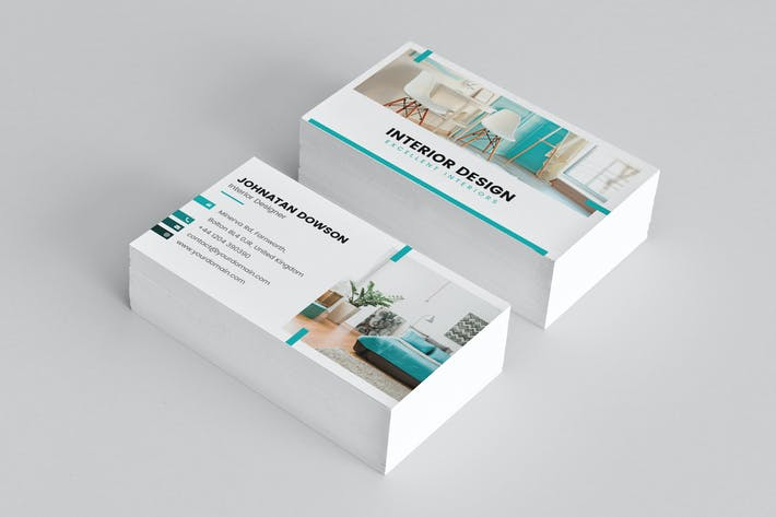 Thumbnail for Business Card – Interior Design