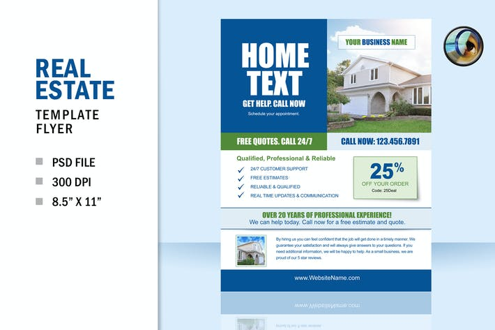 Thumbnail for Real Estate Business Flyer