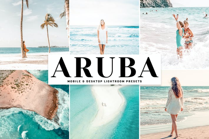 Thumbnail for Aruba Mobile & Desktop Lightroom Presets
