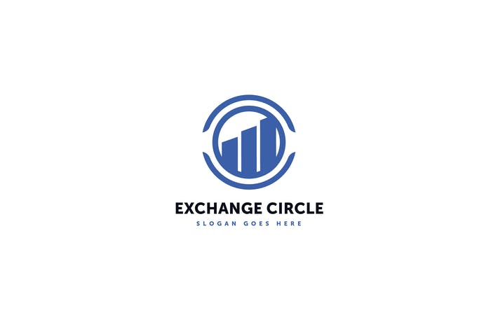 Thumbnail for Exchange Circle Logo Template