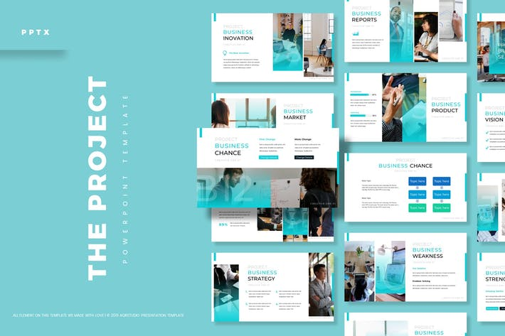 Thumbnail for The Project - Powerpoint Template