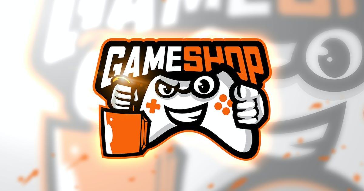Download Game shop - Mascot & Esport Logo by aqrstudio