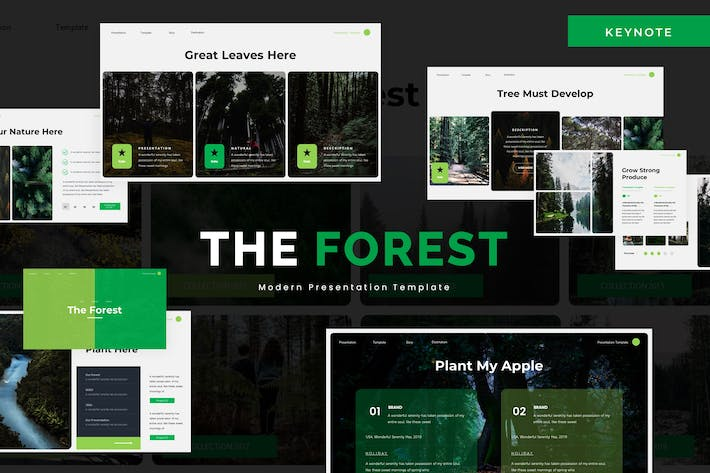 The Forest - Keynote Template