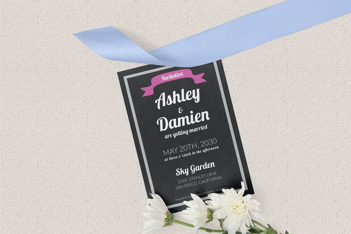 Thumbnail for Wedding Invitation Template