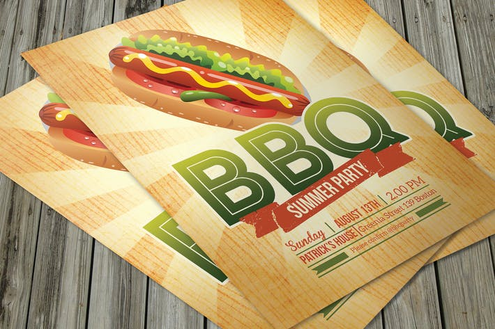 Thumbnail for BBQ Summer Flyer