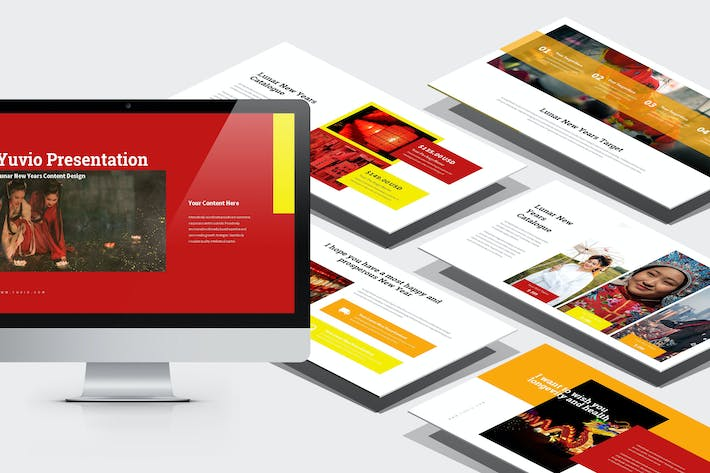Yuvio Lunar New Year Festival Powerpoint By Punkl On Envato Elements