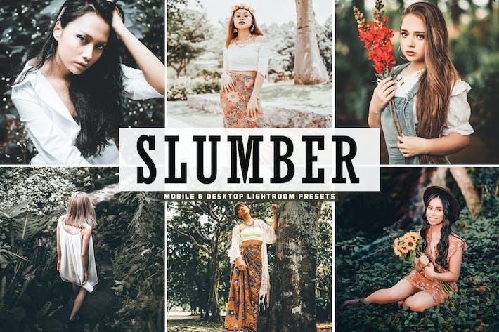 Thumbnail for Slumber Mobile & Desktop Lightroom Presets