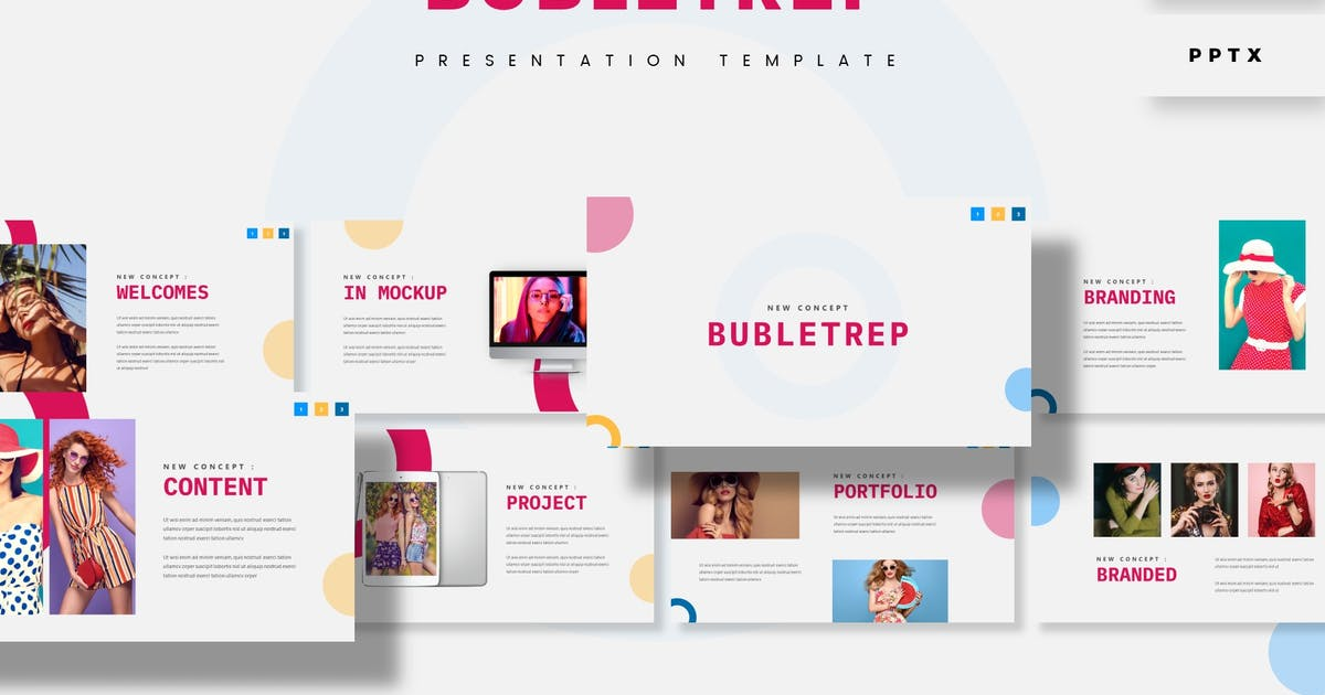 Download Bubletrep - Presentation Template by aqrstudio