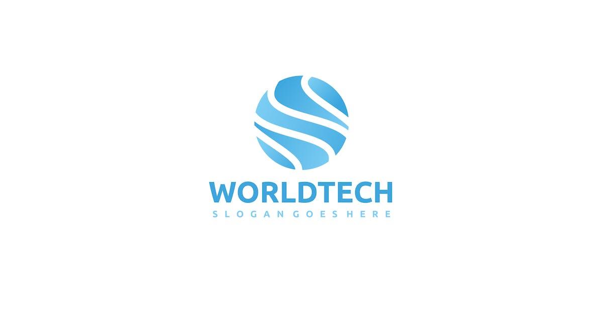 Download World Tech Logo by 3ab2ou