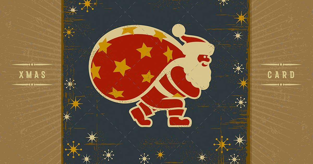 Download Retro Santa Claus by iatsun