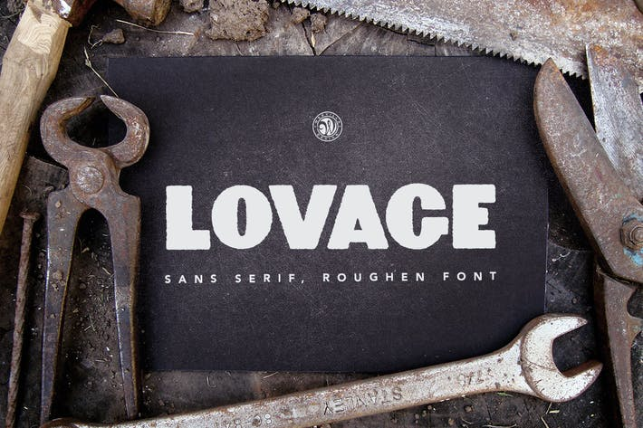 Thumbnail for Lovage Font