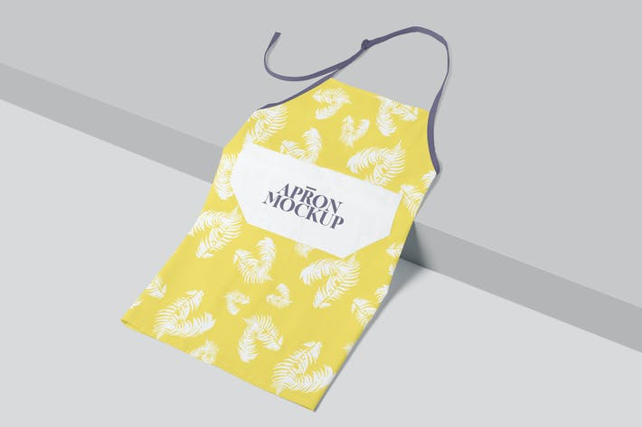Kitchen Apron Mockups
