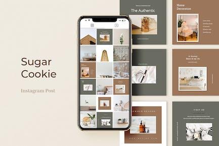 Sugar Cookie Instagram Post