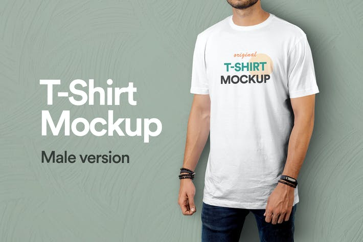Thumbnail for T-Shirt Mockup Vol 09