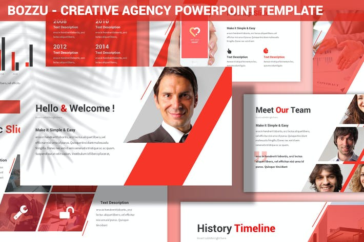 Thumbnail for Bozzu - Creative Agency Powerpoint Template