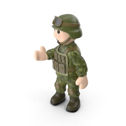 Soldier Pointing