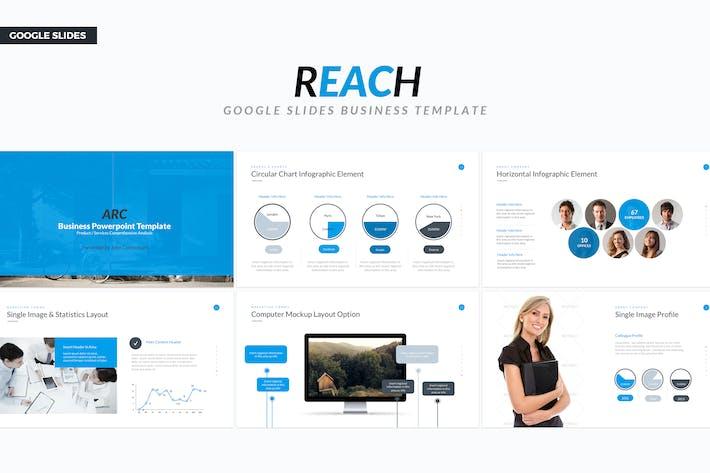 Thumbnail for Google Slide Business Template