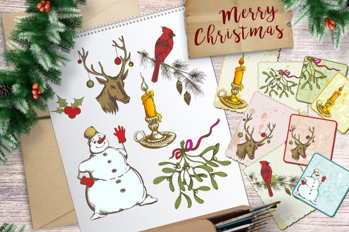 Thumbnail for Christmas Design Elements