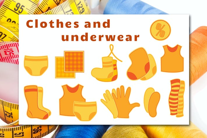 Thumbnail for Сlothes and Underwear Icons