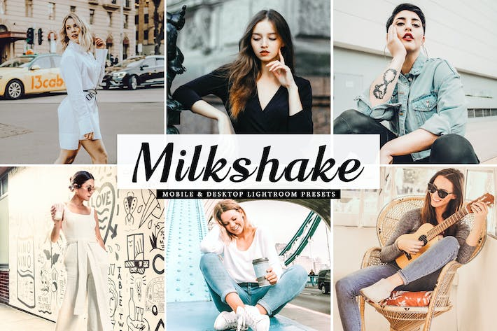 Thumbnail for Milkshake Mobile & Desktop Lightroom Presets