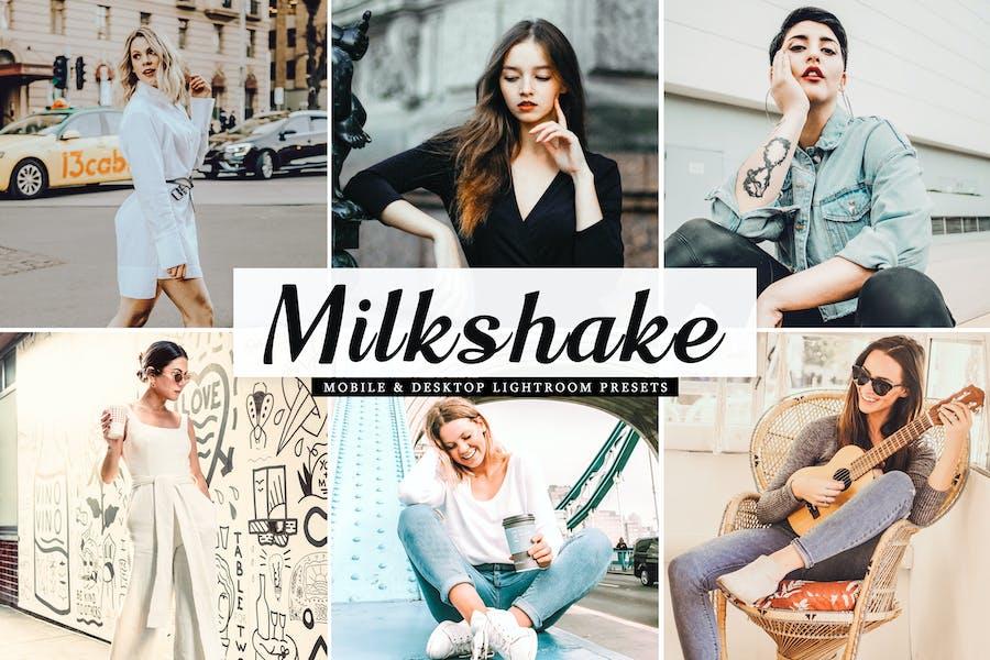 Milkshake Mobile & Desktop Lightroom Presets