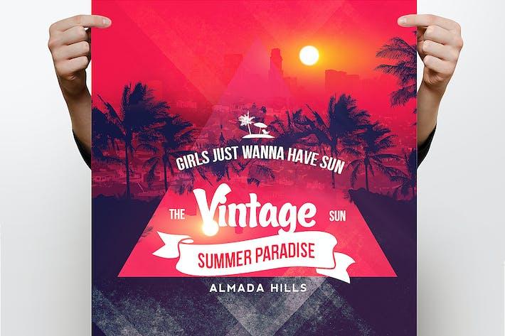 Thumbnail for Vintage Summer Flyer