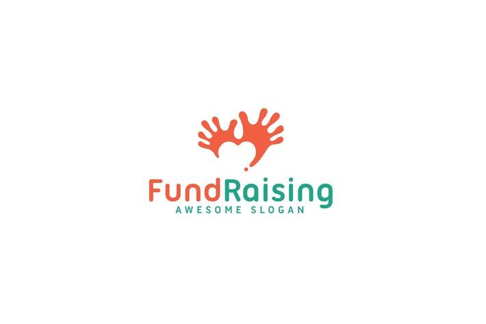 Thumbnail for Fund raising logo template