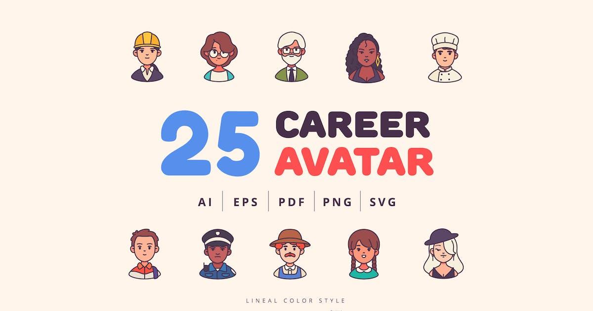 Download 25 Career Avatar Character Design - Part 1 by Victoruler