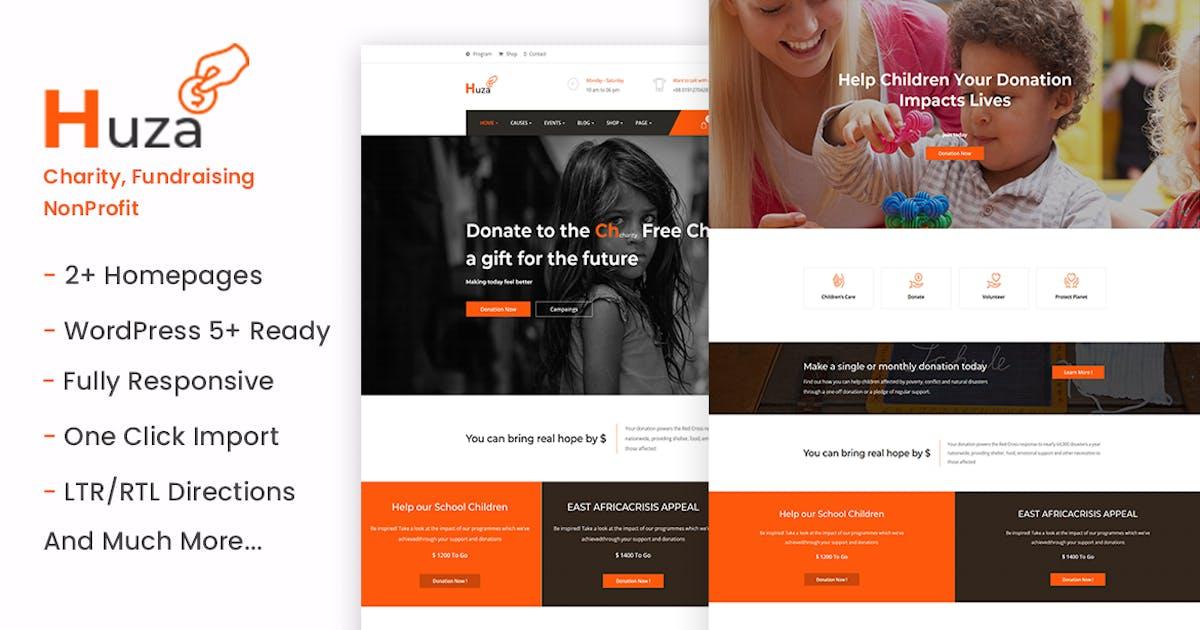 Download Huza - Charity/Fundraising WordPress Theme by ApusTheme