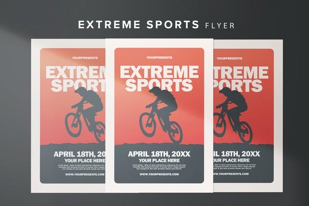 Extreme Sports Flyer