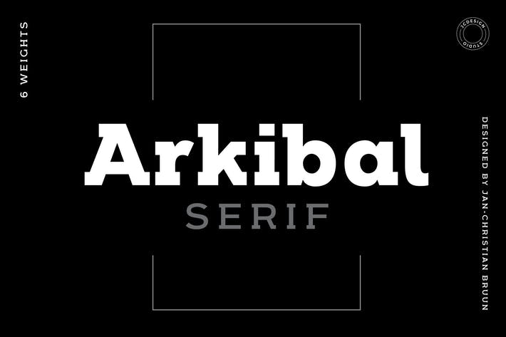 Thumbnail for Arkibal Serif