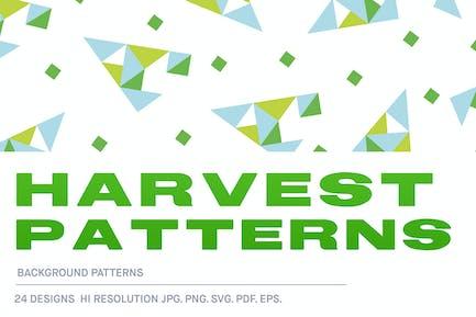 Harvest Background Pattern Tiles