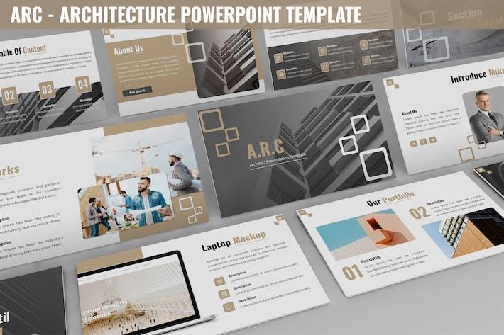Thumbnail for Arc - Architektur-Powerpoint-Vorlage