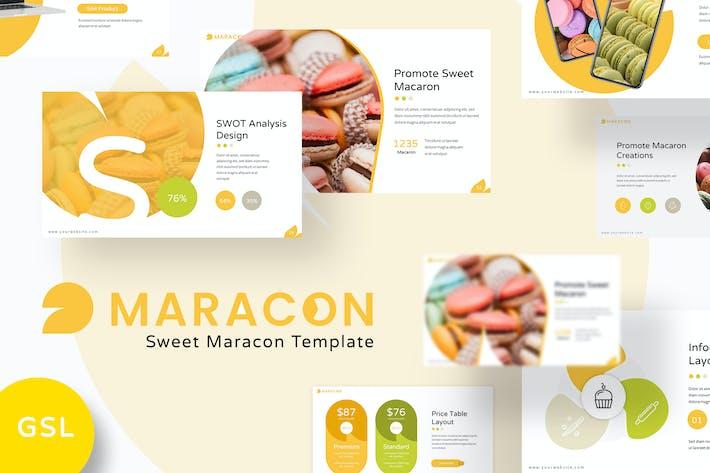 Maracon - Google Slides Template