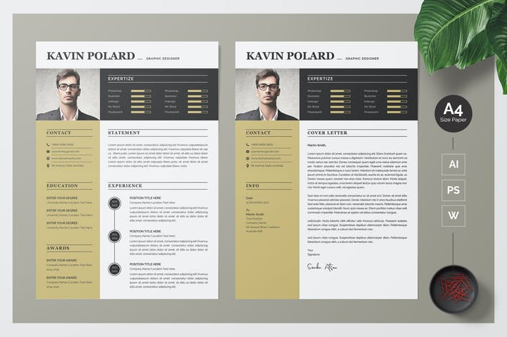Thumbnail for Business and Modern CV / Resume Template