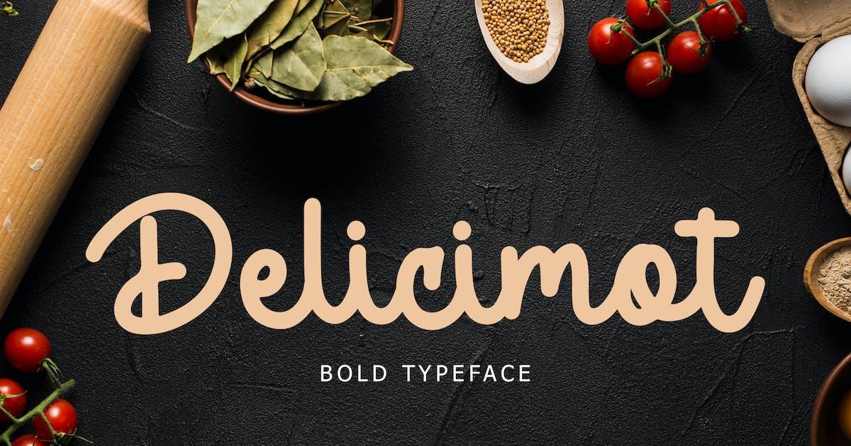 Download Delicimot Delicious Script Font by giantdesign
