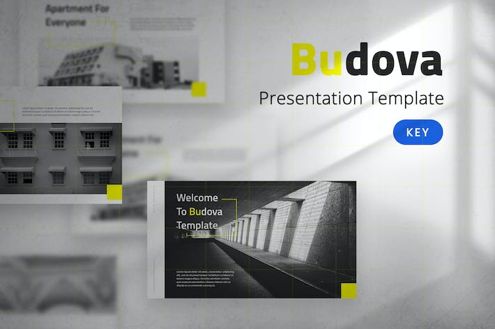 Thumbnail for Budova - Business Keynote Template