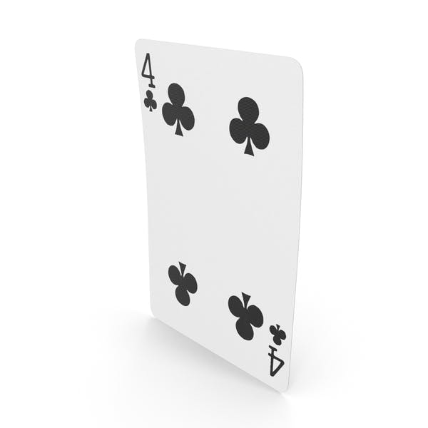 Playing Cards 4 Clubs