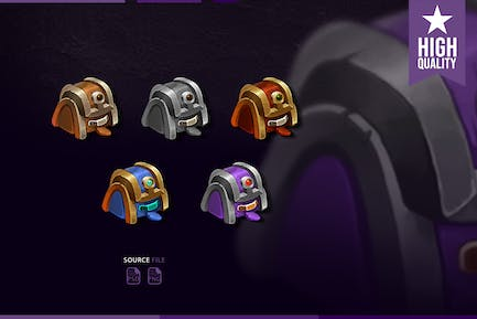 Sub Badges Backpack for Twitch