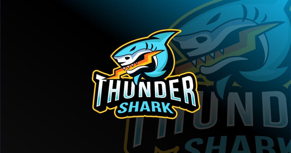 Download Thunder Shark Esport Logo Template by IanMikraz
