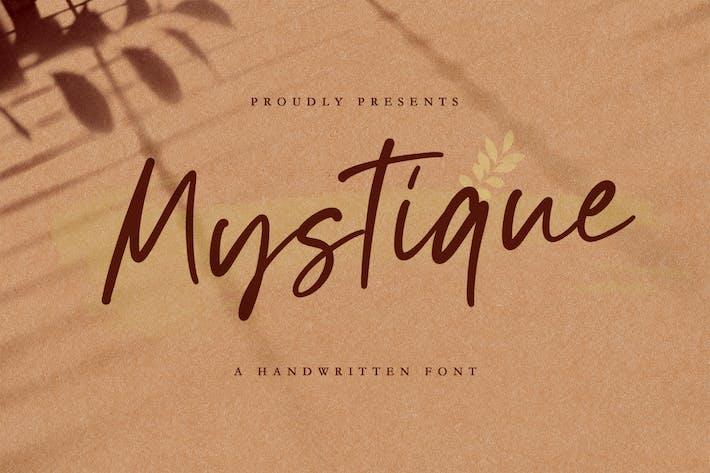 Thumbnail for Mystique - Luxury Signature Font
