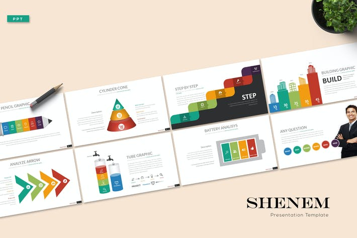 Shenem - Powerpoint Template
